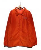 THRASHER(スラッシャー)の古着「コーチジャケット」|オレンジ