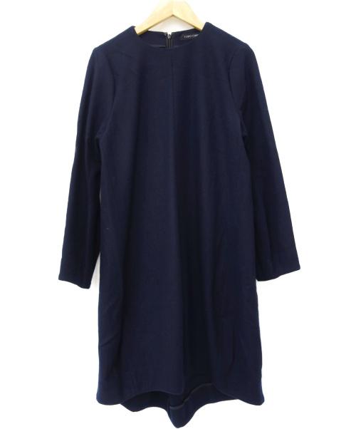 YOKO CHAN(ヨーコチャン)YOKO CHAN (ヨーコチャン) ワンピース ネイビー サイズ:36の古着・服飾アイテム