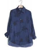 Y's(ワイズ)の古着「シャツ」 ブルー