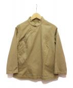 robe de chambre COMME des GARCONS(ローブドシャンブルコムデギャルソン)の古着「チャイナシャツ」|ベージュ