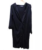 S Max Mara(エス マックスマーラ)の古着「ロングカーディガン」|ブラック