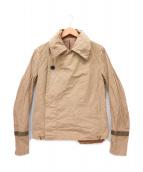 KOLOR(カラ)の古着「ナイロンクロスショートコート」|ベージュ