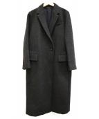 ADORE(アドーア)の古着「ファインメルトンコート」|グレー