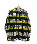 C.E(シーイー)の古着「デザインブロックシャツ」 ブラック