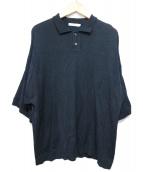 yashiki(ヤシキ)の古着「Mikage Knit Polo」|ブラック