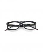 Thom Browne(トムブラウン)の古着「眼鏡」|ブラック