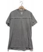 Rebuild by Needles(リビルド バイ ニードルズ)の古着「再構築Tシャツ」|グレー