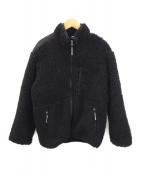 ()の古着「ボアジャケット」|ブラック