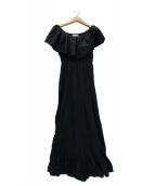 MARIHA(マリハ)の古着「ワルツのドレス オフショルワンピース」 ブラック