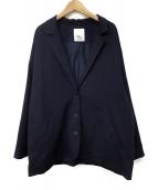 STYLE MIXER(スタイルミキサー)の古着「ドルマンジャケット」 ネイビー