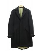 NEXUSVII(ネクサスセブン)の古着「M-17 CHESTERFIELD COAT」 ブラック