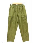 CellarDoor(セラドール)の古着「リップストップパンツ」|オリーブ