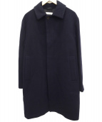 BEAUTY&YOUTH(ビューティーアンドユース)の古着「メルトンバルカラーコート」|ネイビー