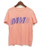 Maison Margiela(メゾンマルジェラ)の古着「グラフィックTシャツ」|ピンク