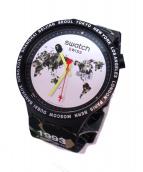 SWATCH×A BATHING APE(スウォッチ×アベイジングエイプ)の古着「腕時計」