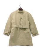 FUMIKA UCHIDA(フミカ ウチダ)の古着「ボンディングプルオーバーコート」|ベージュ