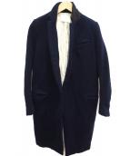 NEON SIGN(ネオンサイン)の古着「チェスターコート」|ネイビー