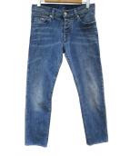 EMPORIO ARMANI(エンポリオアルマーニ)の古着「J65ストレッチデニムパンツ」 インディゴ