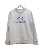 ck Calvin Klein(シーケーカルバンクライン)の古着「スウェット」 ライトグレー