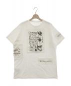 MM6 Maison Margiela(エムエムシックス メゾン マルジェラ)の古着「ビッグシルエットTシャツ」|ホワイト