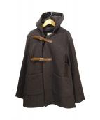 MOUNTAIN RESEARCH(マウンテンリサーチ)の古着「ベルテッドコート」|ブラウン