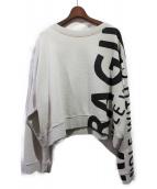 Martin Margiela 10(マルタンマルジェラ 10)の古着「19AW Fragile スウェットシャツ」|ライトグレー