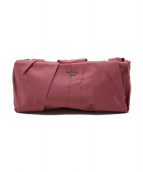 PRADA(プラダ)の古着「クラッチバッグ」|ピンク