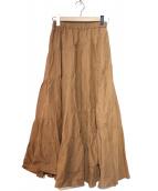 The Virgnia(ザヴァージニア)の古着「マキシスカート」|ベージュ