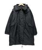 SOFIE DHOORE(ソフィードール)の古着「ダウンコート」|ブラック