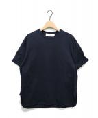 CYCLAS(シクラス)の古着「ターンアップカフスTシャツ」|ネイビー
