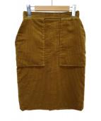 Drawer(ドゥロワー)の古着「コーデュロイタイトスカート」