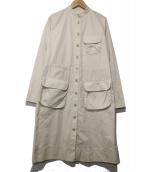 DOSA(ドーサ)の古着「シャツワンピース」|オフホワイト