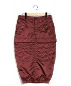 N°21 NUMERO VENTUNO(ヌメロヴェントゥーノ)の古着「タイトスカート」|ボルドー