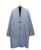 rag&bone(ラグアンドボーン)の古着「ウールカシミヤリバーコート」|ネイビー