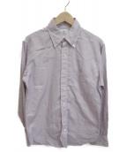 Black Fleece(ブラックフリース)の古着「チェックBDシャツ」|レッド