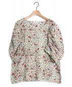 tsumori chisato(ツモリチサト)の古着「さばくの花コットンブラウス」|アイボリー