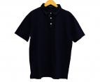BLACK LABEL CRESTBRIDGE(ブラックレーベルクレストブリッジ)の古着「ロゴ刺繍ポロシャツ」|ネイビー