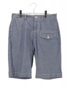 Engineered Garments(エンジニアードガーメンツ)の古着「ハーフパンツ」|スカイブルー