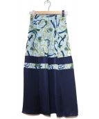 The Virgnia(ザヴァージニア)の古着「タッセルプリントスカート」