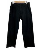 MARGARET HOWELL(マーガレットハウエル)の古着「パンツ」 ネイビー