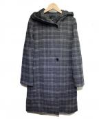 22 OCTOBRE(22オクトーブル)の古着「フーデットビーバーコート」|グレー