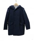 JACKMAN(ジャックマン)の古着「SPECTATOR COAT スペクターコート」 ネイビー