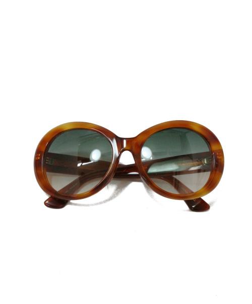 GUCCI(グッチ)GUCCI (グッチ) サングラス ブラウン GG0139SA イタリア製の古着・服飾アイテム