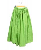 IDEE POOL(イデー プール)の古着「ギャザースカート」 グリーン