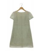 TOCCA(トッカ)の古着「CHASSEドレス」|ミント
