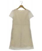 TOCCA(トッカ)の古着「CHASSEドレス」|ホワイト