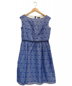TOCCA(トッカ)の古着「SUNFLOWERドレス」|ブルー