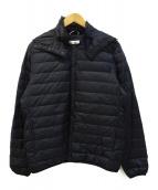 MARMOT(マーモット)の古着「ライトダウンジャケット」|ブラック