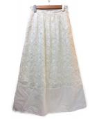 MAX&Co.(マックスアンドコー)の古着「スカート」|ホワイト