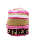 Supreme(シュプリーム)の古着「ニットキャップ」|ピンク